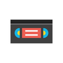 Vector Videotape Icon