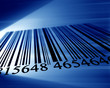 canvas print picture - barcode
