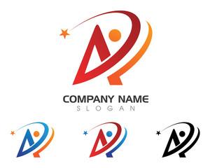 A Logo 3