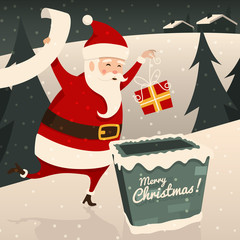 Merry Christmas. Vector illustration.