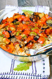 Rice and vegetables bake