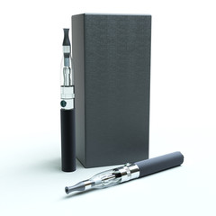 E-cigarettes with box