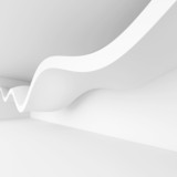Fototapety 3d Render of Abstract Architecture Background