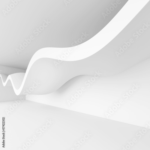 3d Render of Abstract Architecture Background