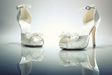 Elegant Brides white shoes