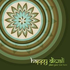 Beautiful Culture Art colorful diwali rangoli ornament Pattern v