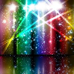 spotlight vector background design