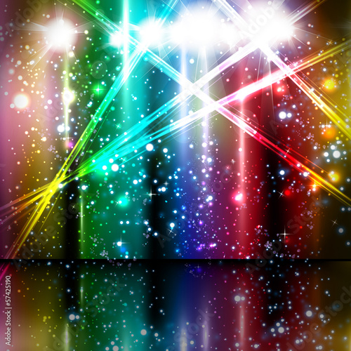 spotlight vector background design