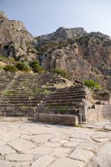 Дельфы. Античный театр на горе Парнас