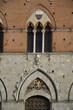 Particolare del Palazzo comunale di Siena