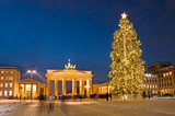 Berlin Brandenburg Gate christmas