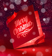 Luminous Christmas greeting card