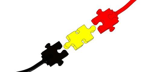 Prise Belgique connexion puzzle
