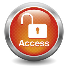 Blue open Access button