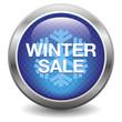 Blue winter sale button