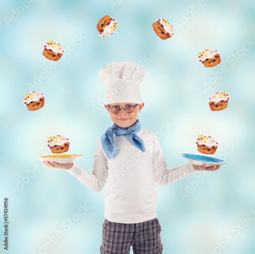 fliegende Cupcakes