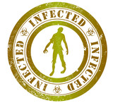 infected stamp