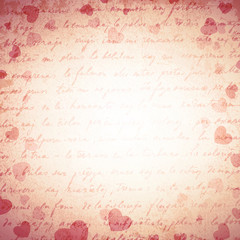 Heart Grunge Background