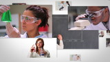 Flying short clips about lab assistants