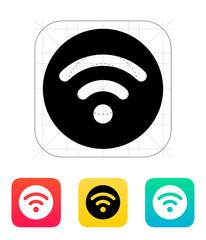 Radio signal icon.