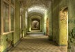 Corridor in the sanatorium in beelitz