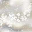 Xmas background. Abstract winter design with stars and snowflake