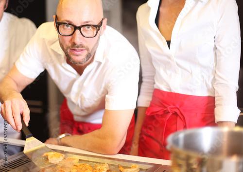 junger Koch