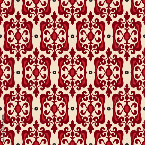 Seamless pattern vector wallpaper
