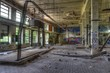 Verlassene alte Lagerhalle
