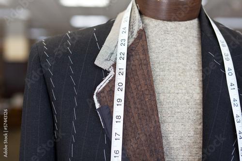 Leinwanddruck Bild Suit Making