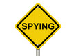 Warning of Spying