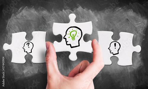 entscheidendes Puzzlestück im Ideenprozess