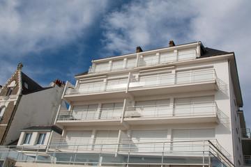 Immeuble en front de mer
