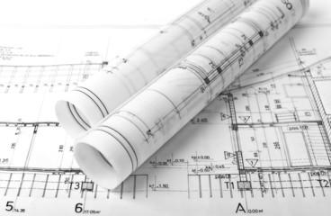 architectural plan drawing blueprints