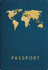 leather passport