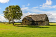 traditional house, Culloden Battlefield , Scotland