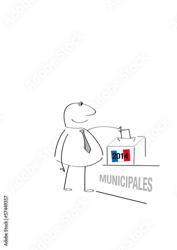 élection municipale France 2014