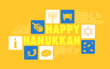 Happy Hanukkah Background