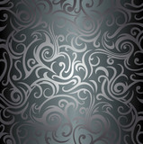 black luxury vintage background