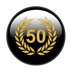 Bottone anniversario 50