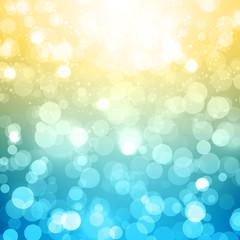 Blurred Festive Vector Background