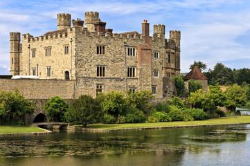 Medieval castle of Leeds, in Kent, England, United Kingdom