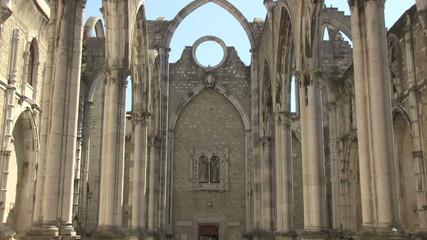 Carmo Church in Lisbon