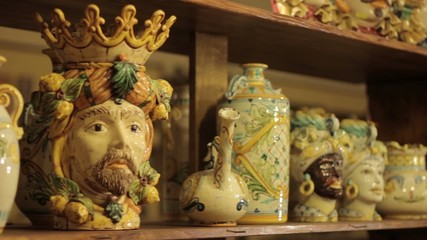 Ceramica artistica di Caltagirone