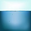 Vector still water background