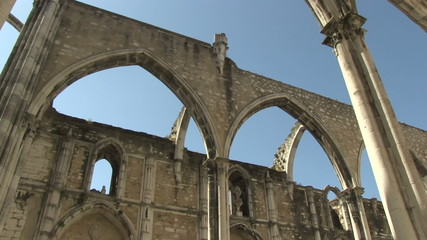 Carmo Church in Lisbon