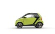Bright Green Small Car