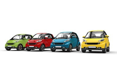 Small Cars In Color