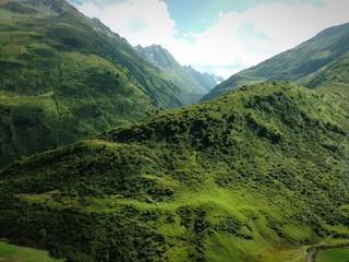 Landschaftsaufnahme in Graubünden