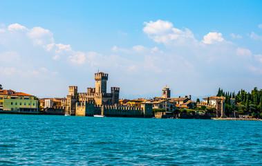 Eine Festungsanlage am Gardasee